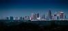 Skyline Frankfurt (gbauer211) Tags: mitscherlichhaus frabkfurt höchst abend blauestunde silhouette skyline hochhaus stadt maintower mainhatten