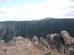 044 - Parc national de la Gaspsie : Mont Xalibu (Arfphandal Forfal Forphan) Tags: trip qubec gaspsie forest tree arbre fort nature water eau park landscape