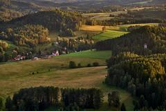 Village in the hills (filip.molcan) Tags: bohemianswitzerland sunset landscape europe leica mountains nationalpark ceskesvycarsko instagram instadaily photooftheday