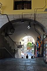 Desde la Plaza Mayor. (Madrid) (raqueelfdez) Tags: madrid spain agosto holydays plazamayor city beautiful
