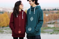 Ramawi (loveitorleaveit) Tags: ramawi couple love light sunset clothes design fashion sunlight portrait red green