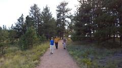 Hiking with Ron & Tina