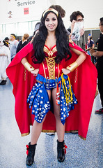 2016 Anime Expo - Wonder Woman (mambastic photography (aka mamba909)) Tags: pentax k01 sigma2470mmf28ifexdghsm animeexpo animeexpo2016 cosplay