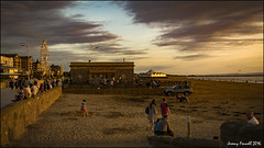 At the end of the day (zolaczakl ( 2 million views, thanks everyone)) Tags: westonsupermare beach seaside seafront september 2016 photographybyjeremyfennell nikond7100 nikonafsnikkor24120mmf4gedvrlens sunsets uk england southwest sand people bigwheel buildings