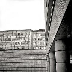 Ivrea (Urania di Arrakis) Tags: filmdev rolleiflex filmphotography selfdevelopment adox 12asa adotech cms 20 darkroom filmisnotdead architecture architettura ivrea olivetti