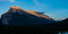 Panorama 12 (Adrian De Lisle) Tags: mountains banff banffnationalpark mountrundle vermilionlakes panorama