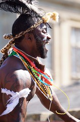 An African Summer at Longleat (Annette Rumbelow) Tags: annetterumbelowwilson longleatsafaripark longleatgrounds longleatcelebrate50yearsanniversary anafricansummer costume costumes performers outside outdoors openair people entertainers entertainment colour texture smile smiles dof dancingpeople dance rhythmofthesavannah beads paint headdress painted faces jewellery laughter africanpeople movement happiness happyfaces