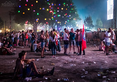 Trashland (Mark Horvath) Tags: budapest eu europe hajogyari hungary obuda sziget sziget2016 szigetfestival concert crowd festival human illuminated individual islandoffreedom junk light night people plastic summer szitizen trash tree