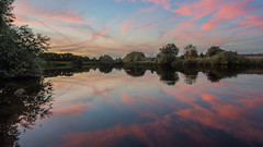 Sunset on the River Trent, South Muskham (Phil D 245) Tags: