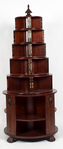 "Thomasville ""Hemingway Collection"" Revolving Library Bookcase ($532.00)"