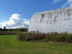 Quonset hut (yooperann) Tags: chatham upper peninsula michigan state university north experimental extension farm rural alger county community collaborative dinner fundraiser