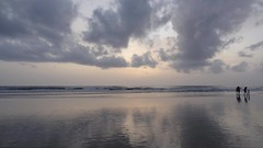 Goa (gypseagal) Tags: goa colva sernabatim konkan coast seaside coastline coconut trees walks goan portugese betalbatim sunset