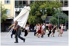 Antithetical (Kevrekidis) Tags: greece athens streetphotography athen atenas athnes atene ateny atena athina atina athene   griechenland grecia grce grcia greqia canoneos600d  kotziasquare dancingathens dance dancing dancers musical actors antithetical kevrekidis