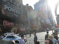 Suitcase Bomb Scare on 42nd Street 2016 NYC 5658 (Brechtbug) Tags: suitcase bomb scare 42nd street west st between 7th 8th avenues midtown manhattan police descended area following reports suspicious package which turned out be small rolling roped off front mcdonalds about 845 am while they investigated nyc 2016 new york city 09212016 false alarm fake bombs