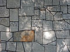 Bricolage - Patchwork (Antropoturista) Tags: poland krakau krakow oldjewishcemetery wall bricolage patchwork necropolis
