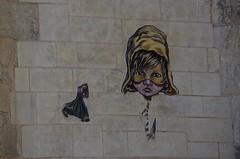 La Rochelle - Quebec (pgauti) Tags: graff streetart larochelle church eglise art street pentax k5 k5ii larochellequebec girl girly aficionados voyage 5photosaday pgauti da55300 55300 justpentax stsauveur eglisestsauveur