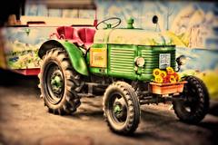 slower [explored 26.09.2016] (camerito) Tags: traktor tractor green grn alt old different anders camerito nikon1 j4 flickr austria sterreich spielberg styer