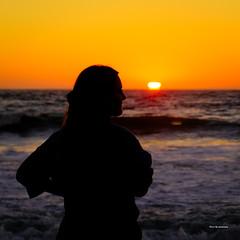 Sunset moment (davidyuweb) Tags: sunset moment san francisco luckysnapshot sfist ocean beach