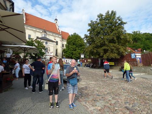 Kazimierz-Dolny - St John the Baptist, street view (2)