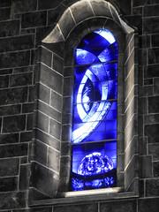 window (maj-lis photo) Tags: galway cathedral ireland window hww blue