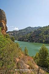 Pantano de Margalef (Nicolas Moulin (Nimou)) Tags: pantano hydro barrage margalef pantanodemargalef