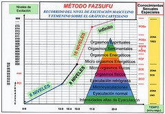 Método fazsufu - Recorrido del nivel de excitación masculino y femenino sobre el gráfico cartesiano (Sexualidad de la Nueva Era) Tags: chart men sex mujer education women flickr adult johnson skills special sexo master human sexual orgasmo hombre sexuality orgasmic eyaculación method phases response grafico adultos especiales humana cartesian fases educación ejaculation 男子 respuesta sexuales método 道教 女子 científica 性高潮 性別 射精 密宗 conocimientos cartesiano fazsufu 性傾向 性別特殊的知識