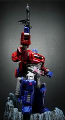 WFC - Optimus Prime (Hasbro) (Jova Cheung) Tags: toys actionfigure transformers mecha optimusprime superrobot warforcybertron