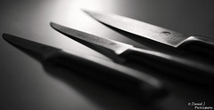 Knives. ( Dominik J. Photography) Tags: macro kitchen canon cut knife messer sharp kche dslr scharf schneiden 5dmarkii dominikjakob