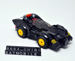 Chibi Batmobile (8664) (Si-MOCs) Tags: lego batmobile 8664 chibibatmobile