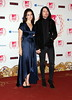 Lana Del Rey with her boyfriend Barrie-James O'Neill The MTV EMA's 2012 held at Festhalle - arrivals Frankfurt, Germany