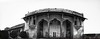 Jahangir's Quadrangle - Lahore Fort (яızωαи) Tags: city original pakistan bw panorama white black west by architecture hall fort muslim british suite quadrangle lahore oldcity walled lahorefort constructed interventions mughal mughals jahangirs لاہور maghrabi widescape قلعہ شاہی
