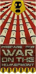 vintod propaganda (vintod) Tags: war propaganda helicopter sunburst gasmask redstripe homefront parachute airraid paratrooper
