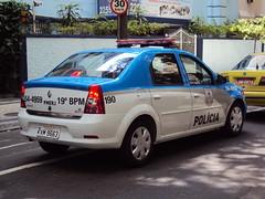 19 Brigada (Upper Uhs) Tags: auto brazil car brasil rj police renault coche policecar carro logan polizei 190 polícia viatura automóvil polis polizia políciamilitar policía policja poliisi polisi patrulla pulizija ríodejaneiro renaultlogan patrullero policíamilitar kvm9663