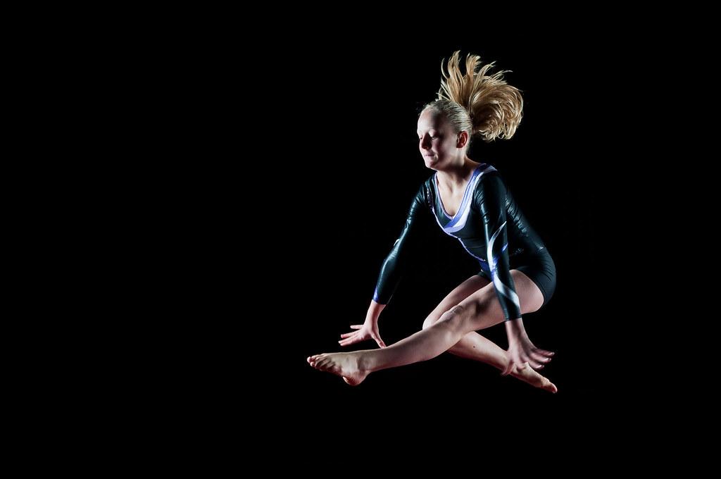 Gymnastics flash