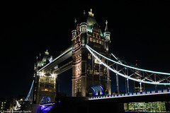 Tower Bridge London - Night Lights Again by Simon & His Camera (Simon & His Camera) Tags: city bridge light urban building london tower thames skyline architecture night dark outdoor iconic simonandhiscamera