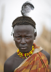 Young Dassanech Man With Feather Omorate, Omo valley Ethiopia (Eric Lafforgue) Tags: africa portrait people vertical necklace picture tribal photograph blackpeople omovalley ethiopia tribe youngadult tribo frontview colorphoto headandshoulders nomadic thiopien etiopia menonly onepersononly ethiopie etiopa humanface lookingatcamera manmen oneyoungmanonly onemanonly  omorate etiopija ethiopi indigenousculture geleb  etiopien etipia  etiyopya  snnpr southernethiopia 1718years truepeople   exterioroutdoors  omotic   1920years    southernnationsnationalitiesandpeoplesregion blackethnicity youngadultsonly dassanechdaasanachdaasanechdassanachdassanetchmerillelaketurkana ethiopianomovalley abyssiniahornofafrica ethio9552 pendnt