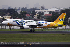 RP-C3269 A320 Cebu Pacific Air (JaffaPix) Tags: airplane airport aircraft aviation aeroplane airbus manila cebu runway mnl a320 320 cebupacificair rpll rpc3269
