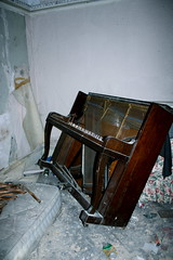 (jessica-anne) Tags: old house cold london abandoned broken dark mess empty piano oldhouse streatham deserted spaces trashed
