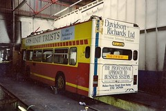 Its been done before.... (sprocket316) Tags: stokeontrent leyland olympian hanley northstaffs pmt northstaffordshire leylandolympian potteriesmotortraction cloughstreetgarage a741gfa