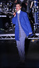 Rihanna switches on the Christmas lights at Westfield Stratford. London