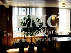 Interior Corporate Identity Logo Signage on Glass