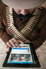 Pancho Villa TwittStar (Eneas) Tags: villa pancho revolucin panchovilla twitter twittering twitteando tuitero twiteando