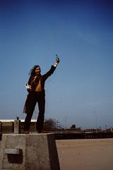 NYC April 1980 pic198 (streamer020nl) Tags: new york nyc newyork beach brooklyn coneyisland liberty island louise lunapark statueofliberty coney 1980 240480 24apr1980