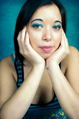 Blue (Ian_Boys) Tags: blue portrait girl 50mm model nikon kat f56 ais f12 d700 stalybridgephotographicclub