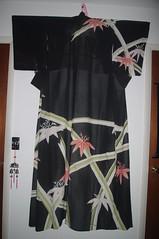 Summer Ro Hikizuri (TsurukoMaiko) Tags: vintage antique silk maiko geiko geisha kimono showa hanamachi taisho kinsha kagai hikizuri susohiki