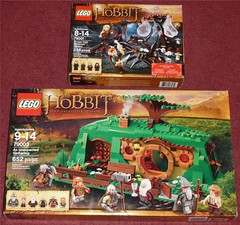Hobbit Lego Sets - FOUND (Darth Ray) Tags: from escape lego spiders an gathering hobbit unexpected mirkwood