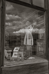 Bodie general store window (Xiphoid8) Tags: old reflection abandoned window decay rustic ghosttown bodie generalstore bodieghosttown monocounty abandonedtown bodiecalifornia blackwhitephotos bodieca goldtown monocountyca bodiegeneralstore generalstorewindow