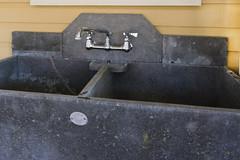 Soapstone sink backsplash (Flint-Hill) Tags: stone sink double co schuyler soapstone slop albemarle custombacksplash alberene s43013