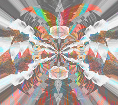 Electric Mainline (SortOfNatural) Tags: from electric pattern place time lets circles or move pop here push rainbows dust glitch spiritualized mainline robertb thirddesign robertmurrayphotography purephase sortofnatural robertbrucemurray electricmainline