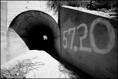 Wildlife Tunnel Under The Tracks (greenthumb_38) Tags: railroad up train desert trains tradition silverwood pilgrimage bnsf cajon cajonpass canon40d desertrailroading jeffreybass cpsilverwood cajonpilgrimage pilgrimshill